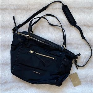 Burberry nylon baby bag in great condition!
